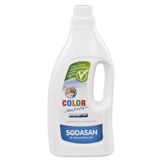 Средство для стирки детских изделий из цветных тканей и для чувствительной кожи 1,5 л Sodasan - фото 5185