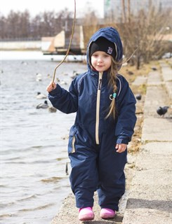 Утепленный непромокаемый комбинезон для детей ХИППИЧИК - фото 4749