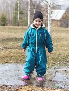 Утепленный непромокаемый комбинезон для детей ХИППИЧИК - фото 4754