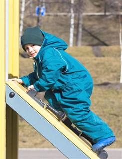 Утепленный непромокаемый комбинезон для детей ХИППИЧИК - фото 4755