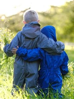 Компактный непромокаемый комбинезон для детей РейниКидз - фото 5334